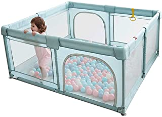 YOBEST Baby Playpen, Playpens for Babies, Extra Large Infant Playard with Gates, Portable Babys Fence, Indoor & Outdoor To...