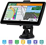 """Car GPS Navigation, AONEREX 7"""" Touch Screen 8GB Real Voice Spoken Turn-by-Turn Direction"""