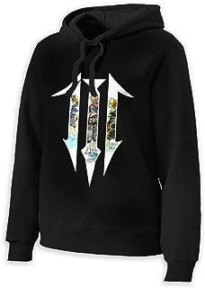 Kingdom Hearts III Classic Hoodies Hooded Sweatshirt for Women XL Black