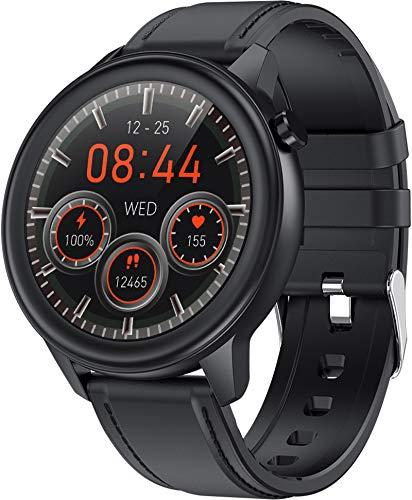 Smartwatch Fitness Tracker Armbanduhr Sportuhr Schrittzähler Herzfrequenz Schlafmonitor Kalorien Kompatibel mit Android iOS