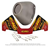 FMF End Cap Kit for Factory 4.1RCT - Stainless Steel