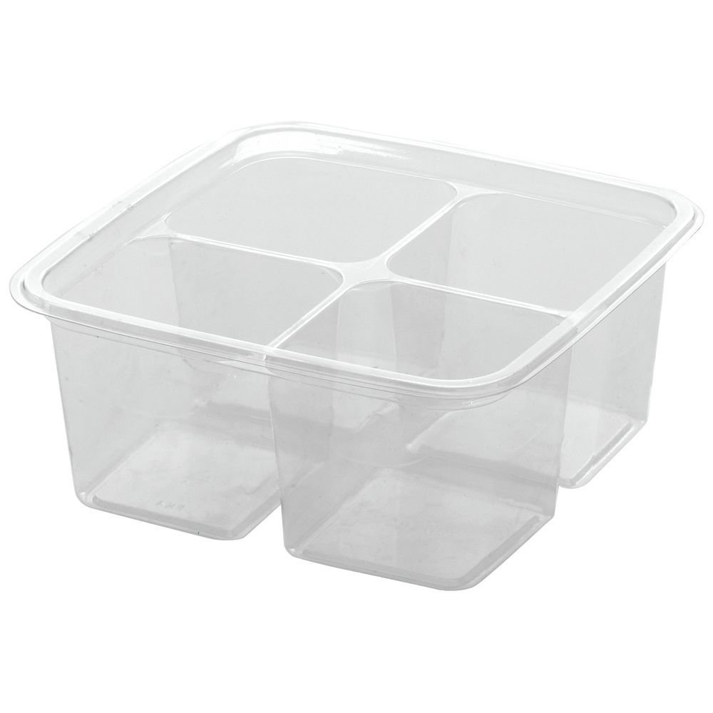 Greenware On-The-Go 4-Cell Take Out Container - 6