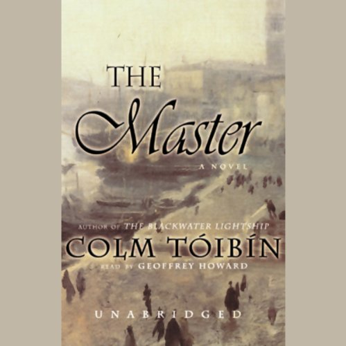 The Master                   By:                                                                                                                                 Colm Toibin                               Narrated by:                                                                                                                                 Geoffrey Howard                      Length: 12 hrs and 32 mins     312 ratings     Overall 3.9