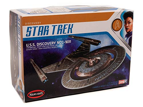 AMT Ertl POL961M/12 1/2500 Star Trek USS Discovery Modellbausatz, verschieden