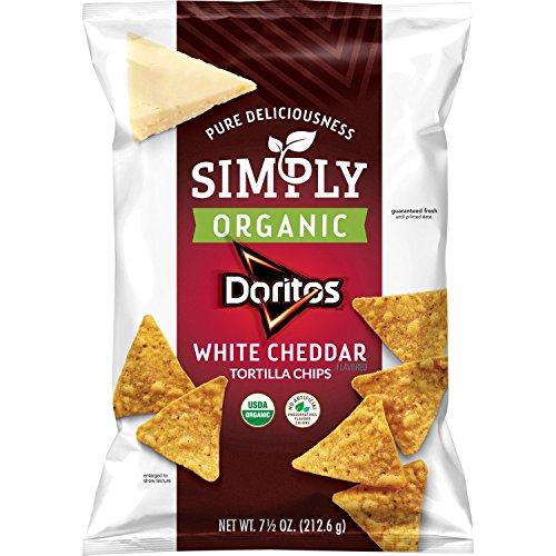 Doritos Flavored Tortilla Chips, White Cheddar, 7.5 Ounce