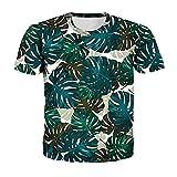 Camiseta Hombre Impresión 3D Novedad Creativa Patrón Único Cuello Redondo Manga Corta Moda De Verano Casual Suelta Cómoda Personalidad Hombres Camisa Deportiva TD05 XXS