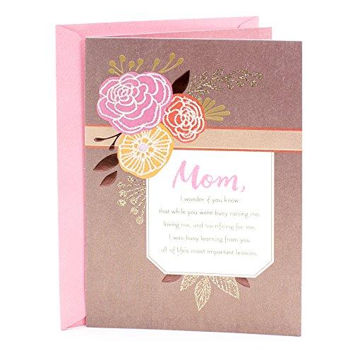 Hallmark Mahogany Birthday Greeting Card (Floral)