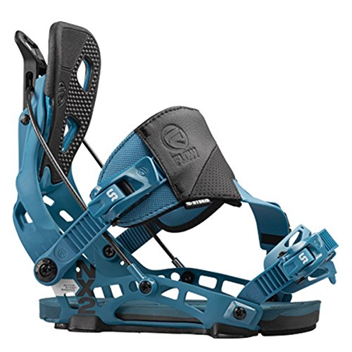 FLOW 2016 NX2 Blue Hybrid Snowboard Bindings (XL (11-15))