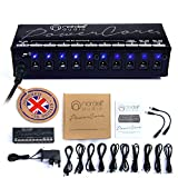 Best Pedal Power Supplies - The Original Premium 'Nordell Audio' Isolated 10 Output Review