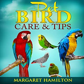 Pet Bird Care and Tips audiobook cover art