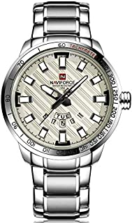 Naviforce Casual Watch For Men Analog Stainless Steel - 9090