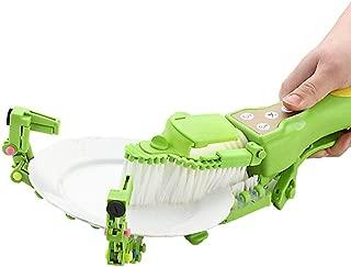 Dishwasher, Sacow Handheld Automatic Dish Brush Scrubber Antibacterial Dishwasher Fits Kitchen Bowls Plates Chips Tools