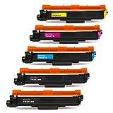 Hitze TN247 TN243 Compatible para Brother TN-243 TN-247 Cartucho de tóner para Brother HL-L3270CDW MFC-L3770CDW DCP-L3510CDW DCP-L3550CDW MFC-L3750CDW MFC-L3710CDW HL-L3210CW HL-L3230CW HL-L3280CDW