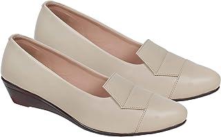 Catwings Womens Bellet Flats (Cream)