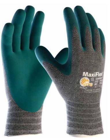 MaxiFlex Handschuh MAXIFLEX blau Finger Belüftete Comfort TG. 8