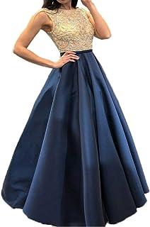 03c13f131b POLP Vestidos Vestidos de Cóctel Largos Mujer Elegante Vestido de Novia para  Boda Honor Vestidos de