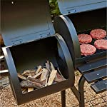 Texas Starter Smoker & BBQ Charcoal Barbecue Ideal for Home Garden Party BBQ 5
