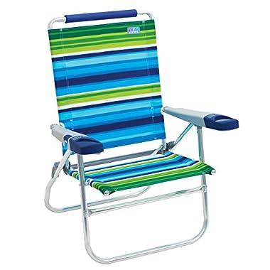 Rio Beach 15  Extended Height 4 Position Folding Beach Chair