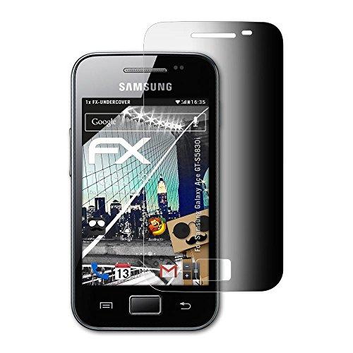 atFoliX Filtro Privacy per Samsung Galaxy Ace GT-S5830i Pellicola Protezione Vista, Privacy a 4 Vie FX Protettore di Privacy per Schermo