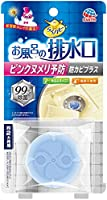 らくハピ お風呂の排水口用 ピンクヌメリ予防 防カビプラス [1個入]×7個