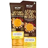 WOW Skin Science Ubtan Face Wash with Chickpea Flour, Turmeric, Saffron, Almond Extract
