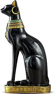 Woyqs-escultura decorativa Gato egipcio europeo pequeños ornamentos creativos, decoraciones para el hogar, sala de estar del gabinete del vino porche habitación dormitorio decoración de la personalida