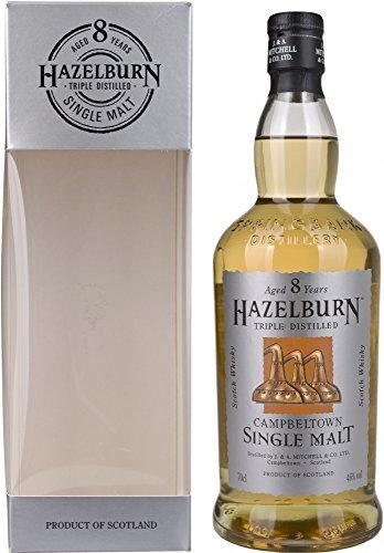 Hazelburn Single Malt 8 Years Old mit Geschenkverpackung  Whisky (1 x 0.7 l)