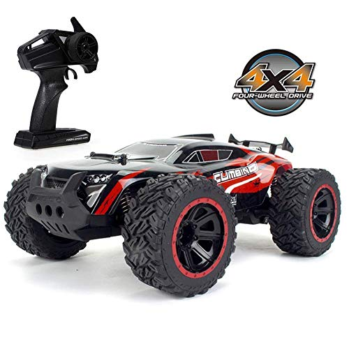 Remote Control car 1:14 Scale Large RC Cars,Boys Remote Control Car 4WD Off-Road Remote Control Car 2.4Ghz Wild Climbing High Speed Toy Drift Car,for Kids and Adults
