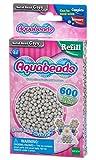 Aquabeads - 32648 - Pack abalorios sólidos Gris