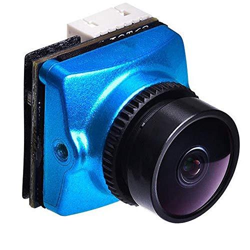 LIUXING Telecamera per RC Quadcopter Super 120dB WDR Mini FPV di Sostegno della videocamera OSD FC di Controllo for RC Racing Drone - 1,8 Millimetri (Colore : Blu, Dimensione : 2.5mm)