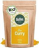 Curry poudre Bio (250g) - doux au gout - intensive dans la vieille recette maison indienne - de qualité supérieure pas d'exhausteurs de goût ou d'additifs artificiels - 100% d'ingrédients biologiques