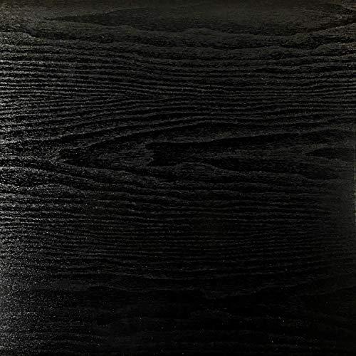 Rohr-Trading.SURFACES Selbstklebende Folie I Tapete I Klebefolie Möbel Küche I Möbelfolie I Küchenfolie I Holzfolie I Holz/Holzoptik/Holzdekor schwarz - Blackwood [800 x 45cm]