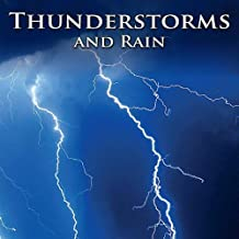 Night Storm: Light Rain MP3 w/ Scattered Heavy Thunder Storms & Lightning