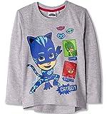 PJ MASKS Camisetas originales de algodón de manga larga para niños, camisetas con personajes Gekko Catboy de 2 a 8 años