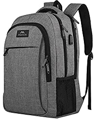 An image of Matein's laptop backpack which is one of the best smart backpacks for women and men