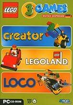 Lego 3 Games Pack Creator - Legoland