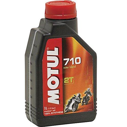 Motul 710 2T Olio Sintetico Per Moto Motori a 2 Tempi - 4 Litri