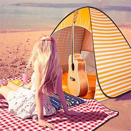 Manyao Playa Tentorange Plus de Picnic al Aire Libre Manta Protectora 2 Personas Perfectamente refugios de Picnic automática rápida niños Sun