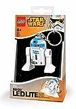 Lego 90032 Minitaschenlampe Star Wars, R2-D2, 7,6 cm -