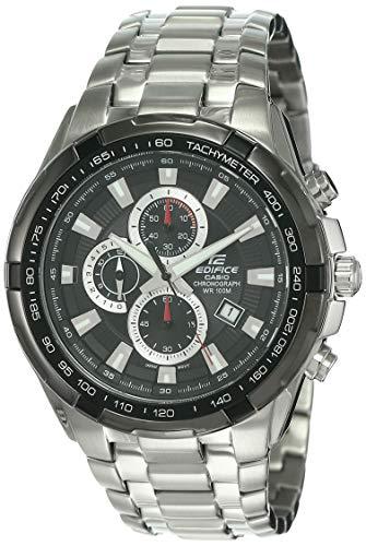 Casio Edifice Chronograph Black Dial Men's Watch-EF-539D-1AVDF (ED369)