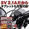 デイトナ バイク専用電源 USBx1 5V/2.1A バッテリー接続 (常時通電) 93039 #1