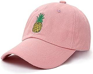 Pineapple Embroidered hat dad hat Fashion Baseball Cap Wild Sun hat Adjustable hat Hip hop hat