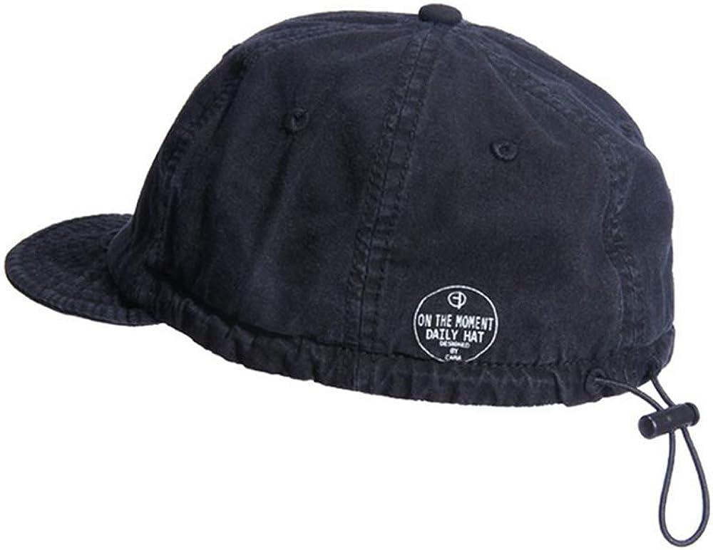 Croogo Short Brim Soft Baseball Cap Washed Bill Cap Casual Trucker Hat Low Profile Retro Dad Cap