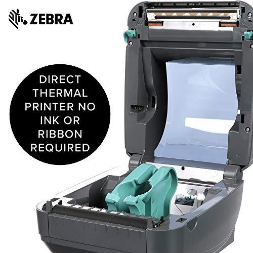 Zebra GK420d Direct Thermal Desktop Printer Print Width of 4 in USB Serial and Parallel Port Connectivity GK42-202510-000