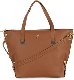 Baggit Women's Shoulder Bag (TAN) (Unitsnits 1)
