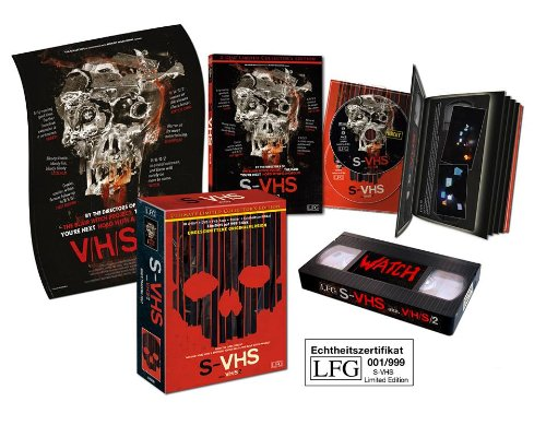 S-VHS - V/H/S 2 - Uncut [Blu-ray + DVD + VHS-Tape + Poster] [Ultimate Limited Collector's Edition]