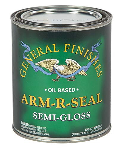 General Finishes Arm-R-Seal Clear Wood Finishes