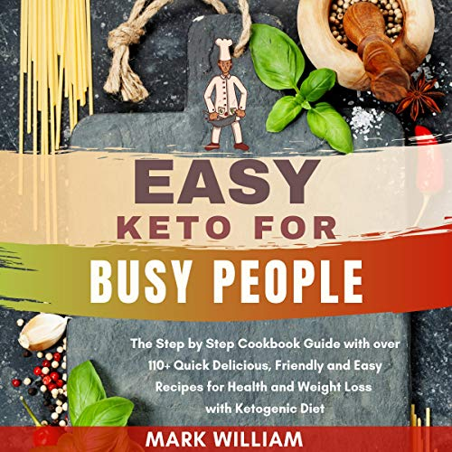 Easy Keto for Busy People audiobook cover art