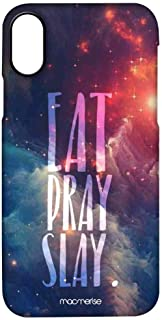 Macmerise IPCIPXPMI0536 Eat Pray Slay - Pro Case for iPhone X - Multicolor (Pack of1)