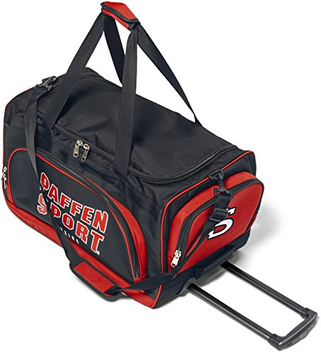 Paffen Sport Team Travel Bag - reis- en sporttas met lichtlopende wielen en uittrekbare greep
